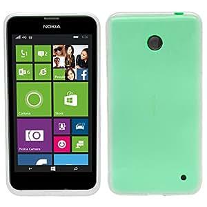 Samrick Slim 'S' Ola Hydro Gel Funda Protectora Para Nokia Lumia 630 - (Slim Clear)