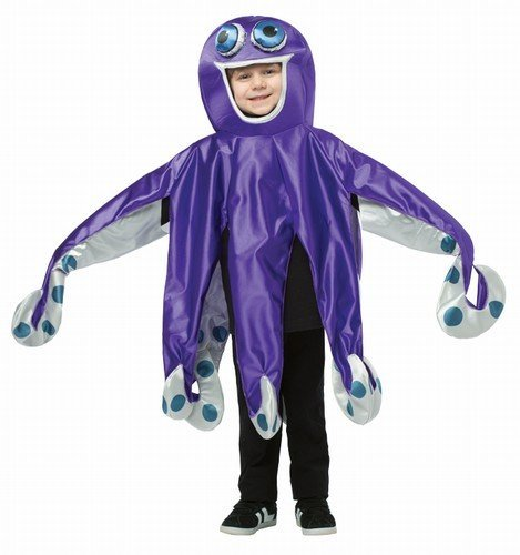 Rasta Imposta Octopus Costume, 7-10 -