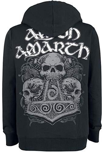 Sweat Noir Zippé À Thorhammer Amon shirt Capuche Amarth Fw04OOEqxR