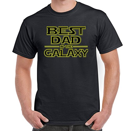 Mens Funny Printed T Shirts-Best Dad in Galaxy Star for sale  Delivered anywhere in Canada