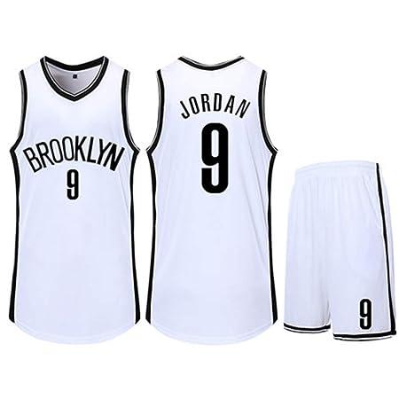 HS-QIAN1 9# Deandre Jordan Brooklyn Nets Conjunto De ...
