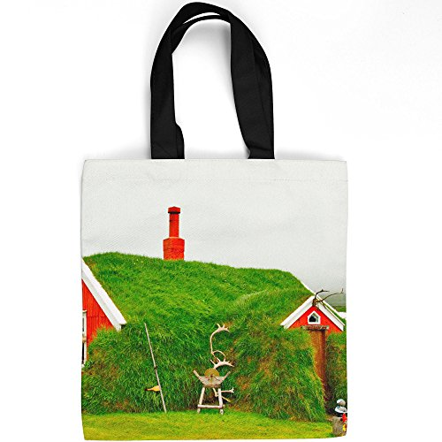 Westlake Art - House Moss - Tote Bag - Fashionable Picture Photography Shopping Travel Gym Work School - 16x16 Inch (EF773)