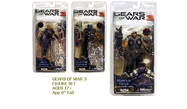 Neca - Gears of War 3 Series 1 Action Figure Case 18 cm (14) by ...