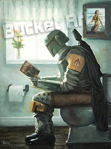 Collector Newspaper (Dropping a Bounty by Bucket - Star Wars Boba Fett Parody - 12
