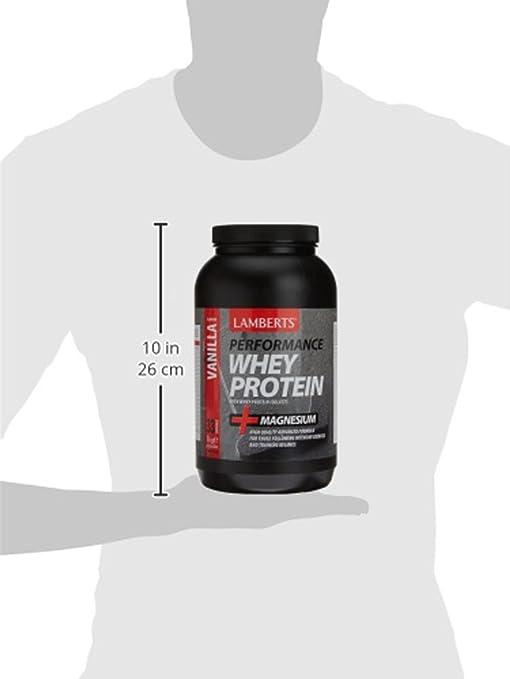 Amazon.com: Lamberts Whey Protein Vanilla & Magnesium 1000g Powder: Health & Personal Care