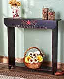 Country Sentiment Home Sweet Home Console Table