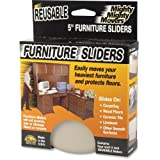 Master Mighty Movers 87007 Furniture Slider - Polymer - Beige