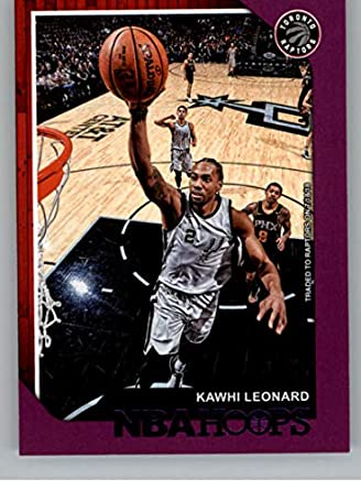 e4a8fa0c28409 Amazon.com: 2018-19 NBA Hoops Purple #13 Kawhi Leonard Toronto ...
