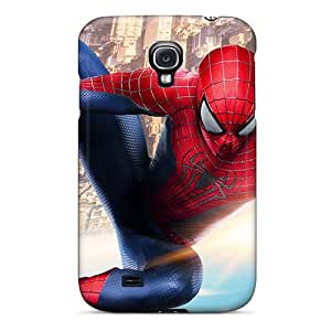 SherriFakhry Samsung Galaxy S4 Protective Hard Cell-phone Case Custom High Resolution The Amazing Spider Man 2 New Image [IRc7999gfiJ]
