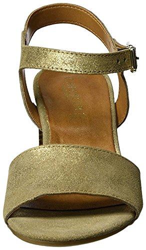 CafèNoir Mxl617, Sandalo con Tacco oro