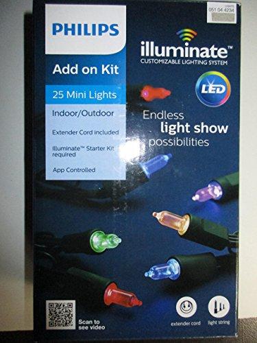 Philips Add On Kit 25 Mini Lights for Philips Illuminate Mini Starter - Kit Customizable Light