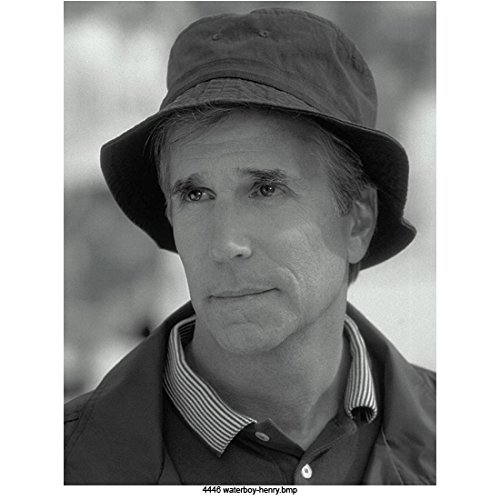 (The Waterboy Henry Winkler As Coach Klein, Black and White Headshot 8 X 10 Inch Photo)