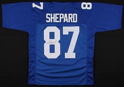 the best attitude 3d8b9 1a43a STERLING SHEPARD SIGNED #87 NEW YORK GIANTS JERSEY w/JSA ...