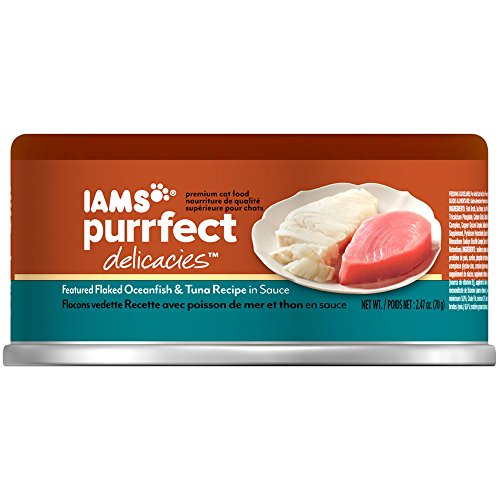 Iams Purrfect Delicacies Flaked Oceanfish And Tuna Recipe Ca