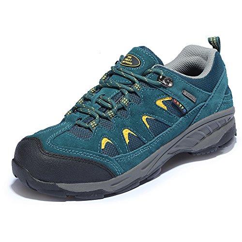 Durable Pour Basses De Chaussures Et Tfo Trekking Vert Fonc Respirant Femmes Marche Outdoor Randonne qI6TTxw48