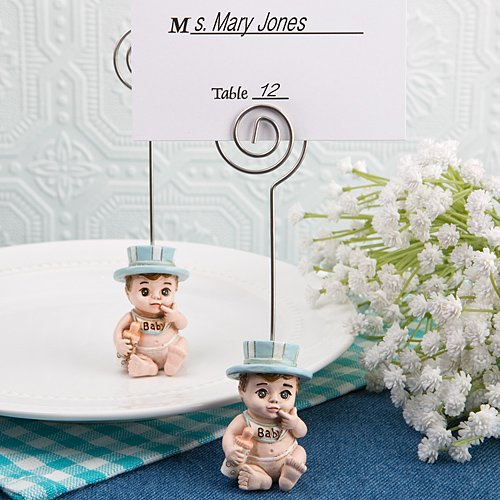 192 Vintage Baby Boy Place Card Holders