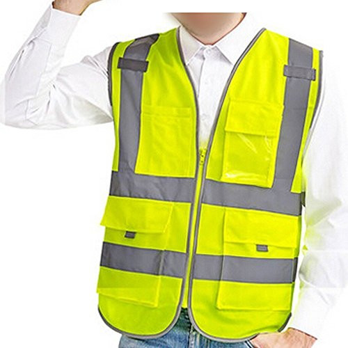 Reflective Vest High Visibility Safety Vest with Reflecti...