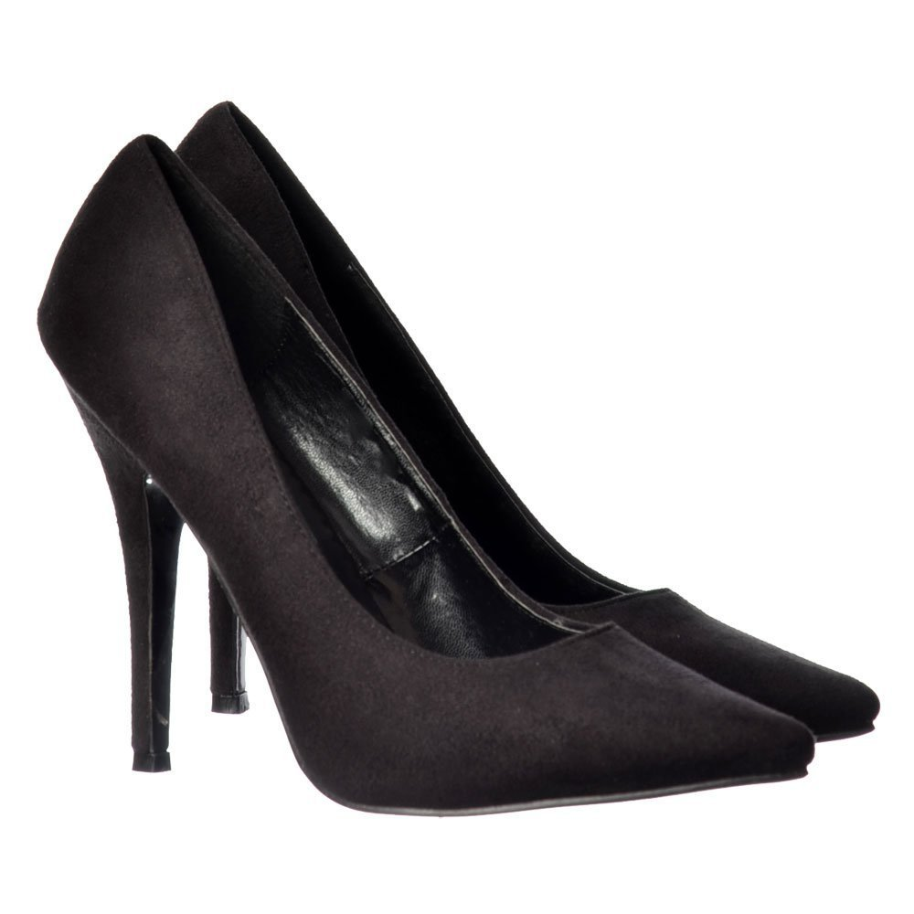 (BS12924) - New Mens Womens Drag Queen Cross Dresser HIGH Heel Pointy Toe Court Shoes Big Sizes UK 9,10,11,12