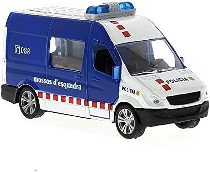 Kiddus Furgon Miniatura Mossos d Escuadra 1:43: Amazon.es ...