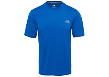 868aee661834f THE NORTH FACE Men's Reaxion Amp Crew T-Shirt: Amazon.co.uk: Sports ...