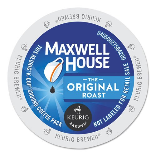 Maxwell House Original Roast Coffee K Cup Single Serve, 24 Count