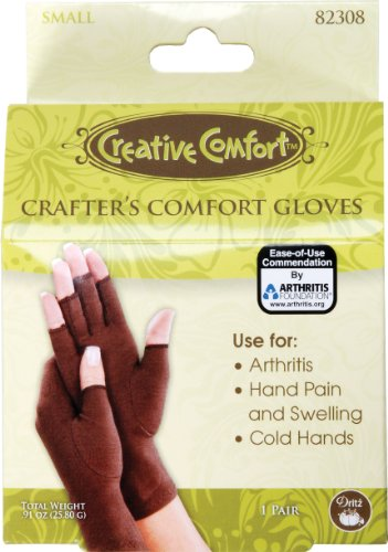 Dritz Crafters Comfort Glove-Small