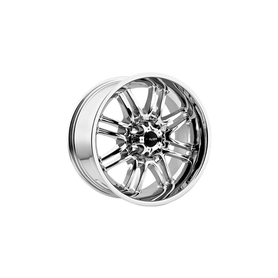 Akuza Ricco 17x9 Chrome Wheel / Rim 5x4.5 with a  12mm Offset and a 83.70 Hub Bore. Partnumber 839790545 12C