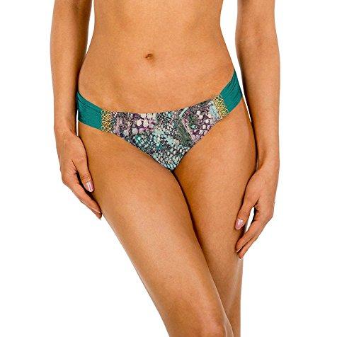 Rose Aerin Swimsuit (Aerinrose VIPE-401 Womens Ruched Back Bottom,Viper,Medium)