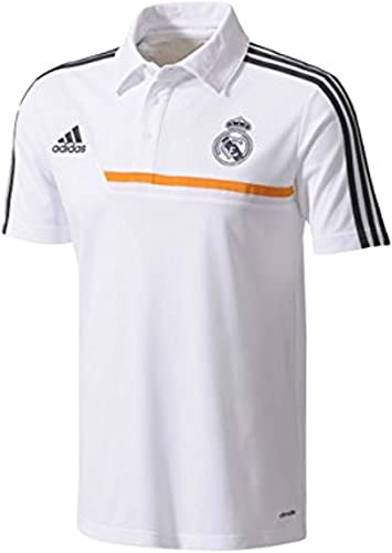 Polo Real Madrid -Blanco- 2013-14: Amazon.es: Deportes y aire libre