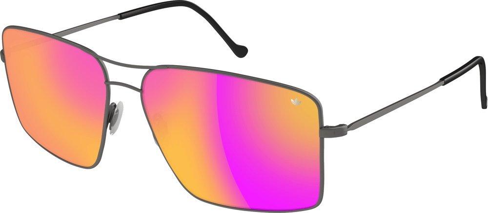 adidas Originals Gafas de sol, grey matt/purple mirror ...