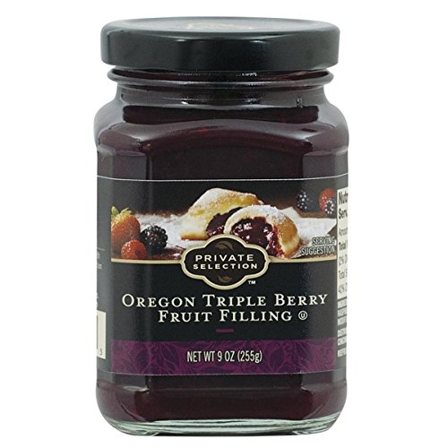 Private Selection Triple Berry Fruit Filling 9 oz (Pack of 3)