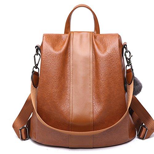 LoZoDo Women Backpack Purse Waterproof Anti-theft Rucksack Lightweight Shoulder School Bags for ()