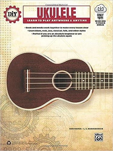 Amazon diy do it yourself ukulele learn to play anywhere amazon diy do it yourself ukulele learn to play anywhere anytime book online audio video 0038081475660 ron manus l c harnsberger books solutioingenieria Gallery