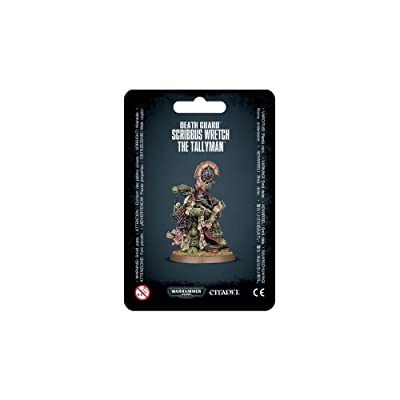 "Games Workshop 99070102003"" Death Guard Scribbus Wretch The Tallyman Miniature: Toys & Games"