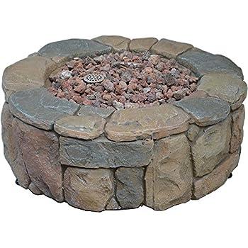 Amazon Com Bond 68195bond Petra Fire Pit 28 Quot Garden