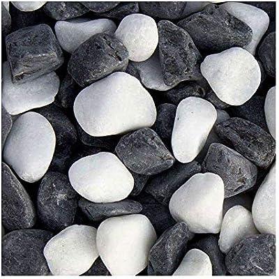 Panda Grava, en el grano 16 – 25 mm, ingresada y atractiva Ornamentales Grava con piedras blancas
