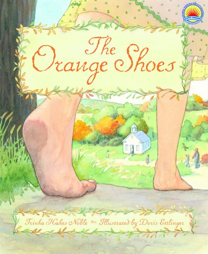 The Orange Shoes by [Noble, Trinka Hakes]