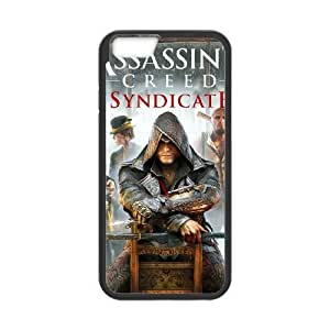 iphone6s 4.7 inch Phone Case Black Assassin's Creed Syndicate ZDC428318