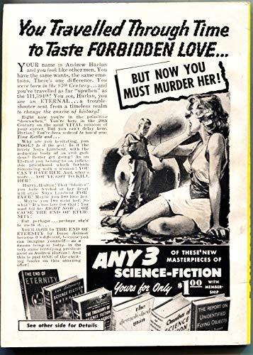 FANTASTIC UNIVERSE SCIENCE FICTION-Nov 1956-Pulp-HANNES BOK-WM F NOLAN
