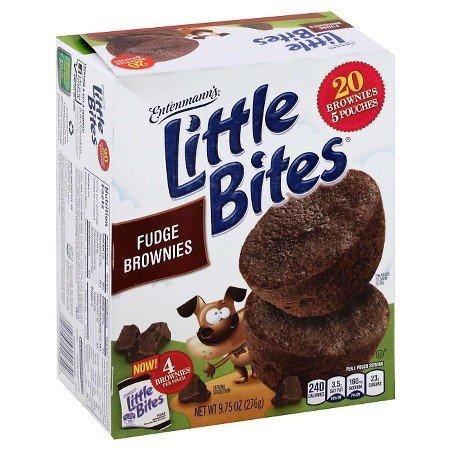 Entenmanns Little Bites (Entenmann's Little Bites 5 ct Fudge Brownie Muffins 8.25 oz (Pack of 3))