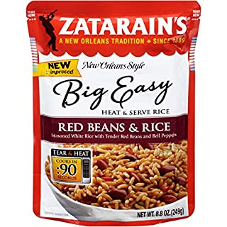 Zatarain's New Orleans Style Big Easy Red Beans & Rice Mix, 8.8 oz (Pack of 8)