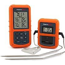 ThermoPro TP20 - Termómetro de Cocina inalámbrico