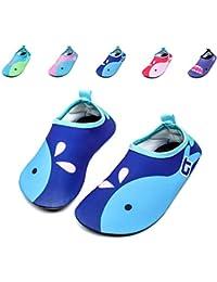 Kids Swim Water Shoes Quick Dry Non-Slip for Boys & Girls