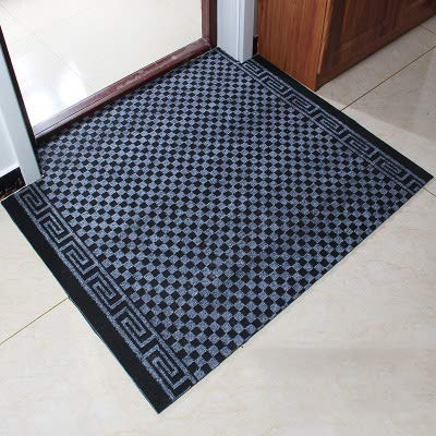 Black and White 60x90cm(24x35inch) Carpet,Doormat Entrance Carpet No-Slipping mat Welcome mat Easy to Clean-Red A 90x130cm(35x51inch)
