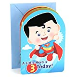 Hallmark 3rd Birthday Greeting Card for Boy