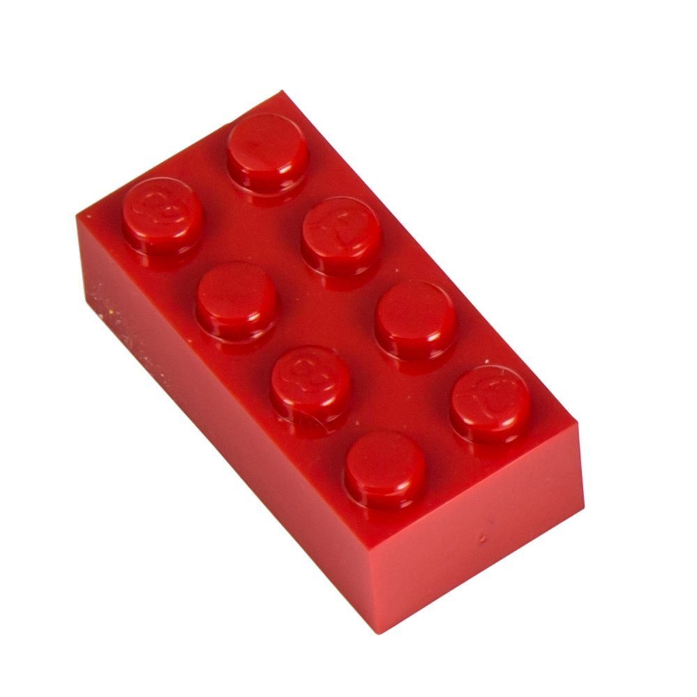 Q-Bricks 4 x 2-Stud Bausteine lose Pack (1000, rot) B00A5XZN7W Bau- & Konstruktionsspielzeug Neuankömmling | Haltbarer Service