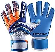 Goalkeeper Goalie Soccer Gloves - Kids & Adults Football Goal Keeper Gloves with Finger Protec
