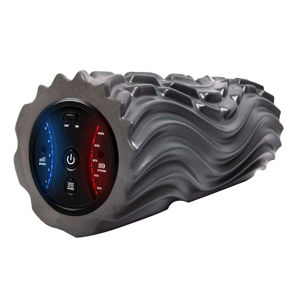 FL- Elektrische Vibrationsmassage Schaumstoffrolle Yoga-SäUle Entlasten Muskelschmerzen Wunderschwere Entlastung KöRperentspannung 5 Freie Anpassung