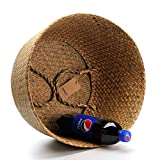 DOKOT Natural Seagrass Belly Basket with