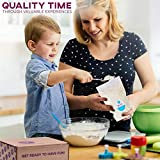 Baketivity Kids Baking Set, Meal Cooking Party